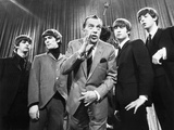 Beatles And Ed Sullivan Photographic Print