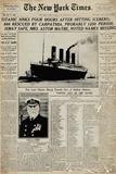 Titanic, Giornale Poster