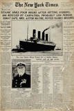 Titanic-Newspaper アートポスター