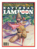 National Lampoon, April 1983 - South Pacific Poster