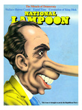 National Lampoon, August 1972 - The Miracle of Democracy Print