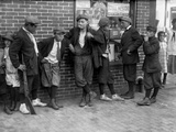 Massachusetts: Gang, C1916 Photographic Print by Lewis Wickes Hine