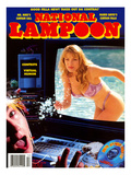 National Lampoon, 25th Anniversary 1995- Computer Gets Him Wet Prints