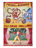 Sideshow Poster, C1975 Posters