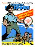 National Lampoon, September 1973 - Our Greatest Weapon: The American Sense of Humor Giclee Print