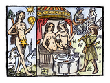 Allegory Of Venus, 1496 Giclee Print by Jean-Nicolas Le Rouge