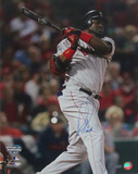 "David Ortiz 2004 WS Game 4 Double w"" Big Papi"" Insc Photo"