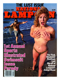 National Lampoon, May 1985 - 1st Annual Sports Illustrated Swimsuit Issue Parody Prints