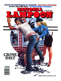 National Lampoon, April 1987 - Crime Pays Posters