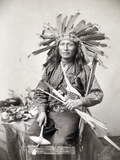 Sioux Leader, 1891 Photographic Print by John C.H. Grabill