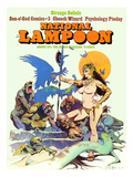 National Lampoon, August 1973 - Strange Beliefs,Sexy Warrior Woman Prints