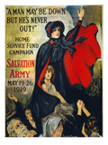 Salvation Army Poster, 1919 Giclee Print by Frederick Duncan