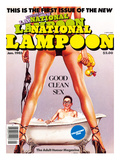 First Issue of the New National Lampoon, January 1985 - Good Clean Sex Posters