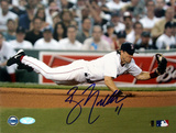 Bill Mueller Dive Vs. Tampa Bay graph Autographed Photo (Hand Signed Collectable) Foto