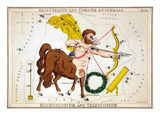 Constellation: Sagittarius Giclee Print by Sidney Hall