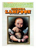 National Lampoon, September 1974 - Old Age Issue, Baby with Old Face and Shoes Posters