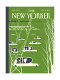 The New Yorker Cover - April 26, 2010 Regular Giclee Print von Frank Viva