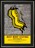 New Wave Festival Posters by Roy Lichtenstein