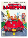 National Lampoon, October 1989 - Back to College Issue Prints