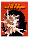 National Lampoon, January 1972 - Is Nothing Sacred Affiches