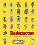 Rastamouse-Characters Posters
