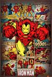 Marvel Comics-Iron Man-Retro Plakáty