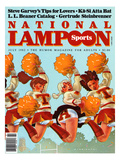 National Lampoon, July 1982 - Revealing Sports Print