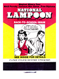 National Lampoon, October 1971 - Back to School Matchbook Issue Print