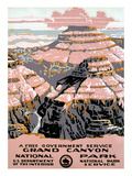 Grand Canyon Poster, C1938 Giclee Print