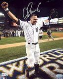 Alex Rodriguez 2009 WS Arms Raised Celebration Vertical (MLB Auth) Photographie