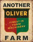 Another Oliver Farm Plakietka emaliowana