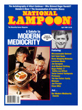 National Lampoon, April 1989 - Modern Mediocrity Poster