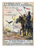 World War I: French Poster Posters