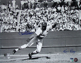 Bob Gibson Fielding Signed by Photographer Ken Regan Photographie