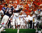 George Martin SB XXI Hit on Elway (Signed by Ken Regan) Photographie