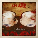 Share a Random Moment Posters by Rodney White