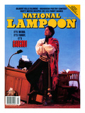 National Lampoon, March 1991 - It's Gaucho! Poster