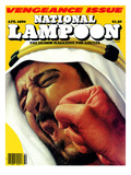 National Lampoon, April 1980 - Vengeance Issue Posters