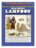 National Lampoon, December 1971 - A Heart-Warming Christmas Posters