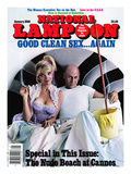 National Lampoon, January 1986 - Good Mr. Clean Sex … Again Print