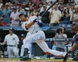 Derek Jeter 3000th Hit Swing (MLB Auth) Photo