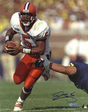 Donovan McNabb Syracuse Eluding Tackle Photo