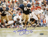 Jerome Bettis Running vs. Penn State Autographed Photo (Hand Signed Collectable) Photo