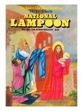 National Lampoon, December 1974 - Judeo-Christian Tradition: The Joy of Sects Poster