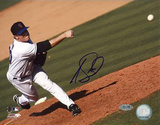 Joe Smith Pitch Autographed Photo (Hand Signed Collectable) Photo