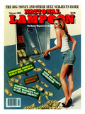 National Lampoon, February 1986 - Big Money and Other Sexy Subjects Issue Stampa
