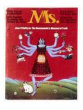 Ms. Magazine, 1972 Giclee Print