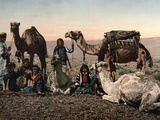Middle East: Travelers Photographic Print