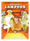 National Lampoon, August 1970 - Paranoia Print