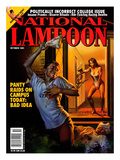National Lampoon, October 1991 - Panty Raids on Campus Today: Bad Idea Prints